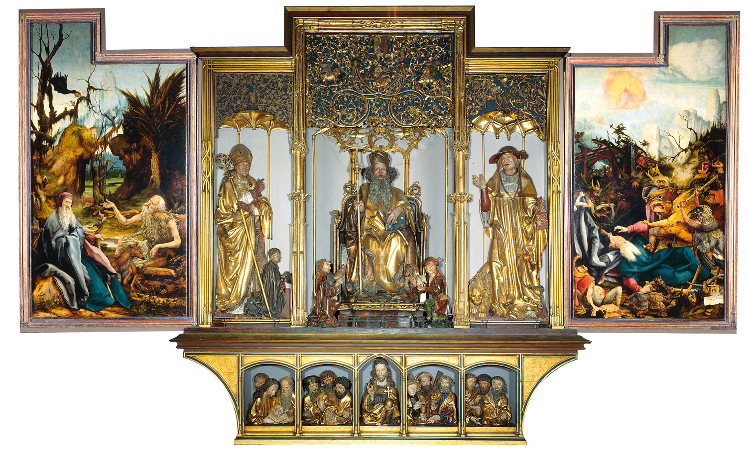 Isenheim Altarpiece at the Unterlinden Museum, Colmar, France