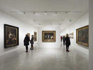 Dans la Galerie souterraine, des œuvres de 1830 à 1930.