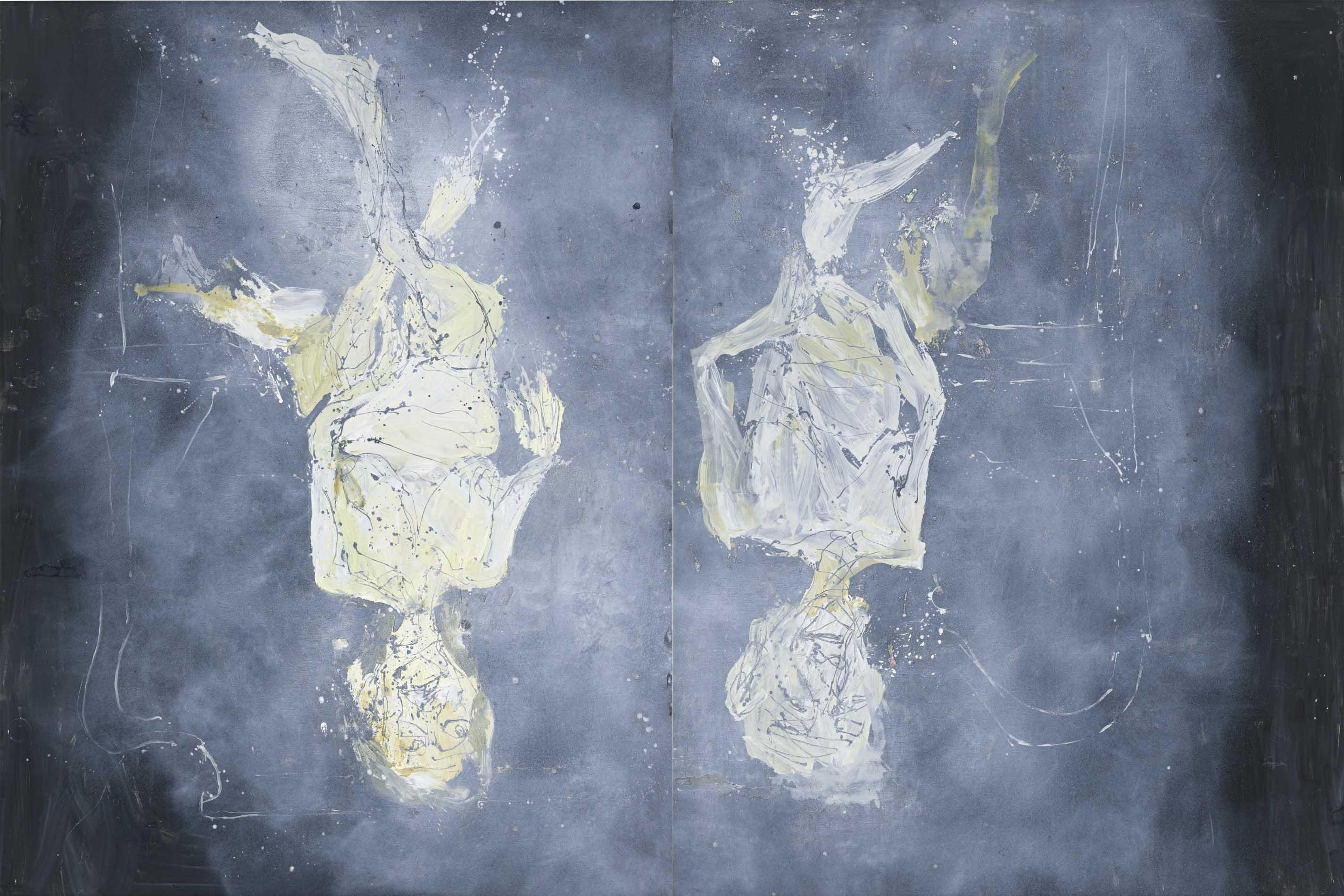 Tableau Georg Baselitz, Dystopische Glocken (2015)