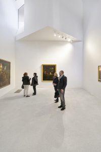 Point focal du musée, la Maison apporte de la lumière naturelle à la galerie et présente trois œuvres emblématiques des collections, de Théophile Schuler, Georges Rouault et Claude Monet.