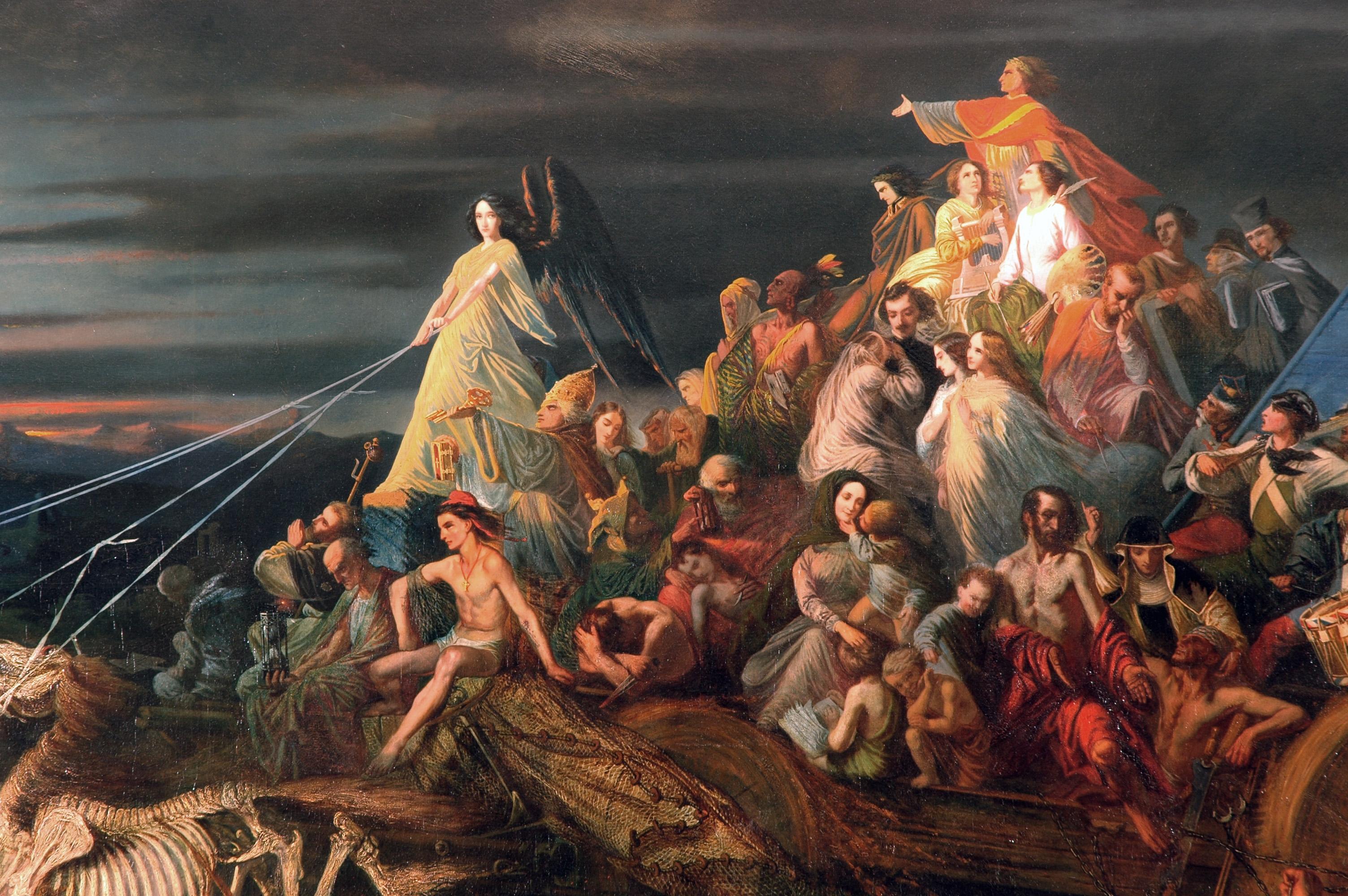 Théophile Schuler, Le char de la mort