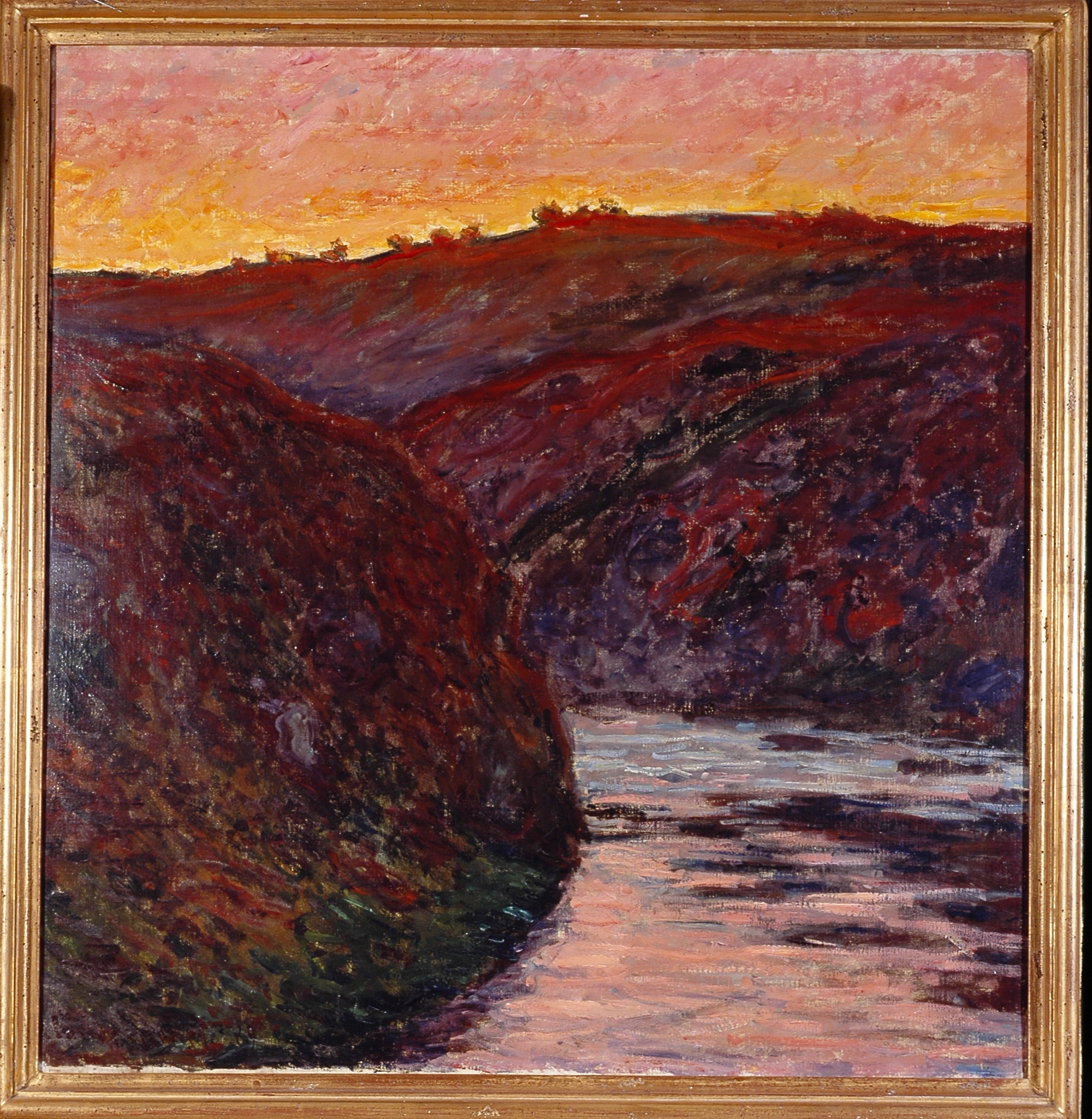 Claude Monet, La Vallée de la Creuse, 1889