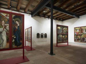 Vue de la salle Martin Schongauer, Cloître.