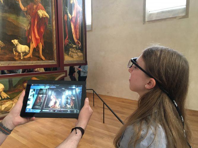 Eye Tracking - étude sur la vision des oeuvres d'art