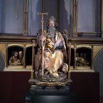 Saint Antoine, sculpture du Retable d