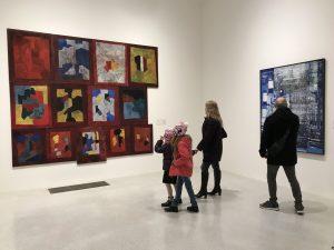 Vue de la salle d'art moderne