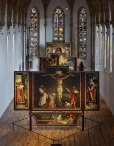 Vue de la Salle du Retable, photo Peter Mikolas